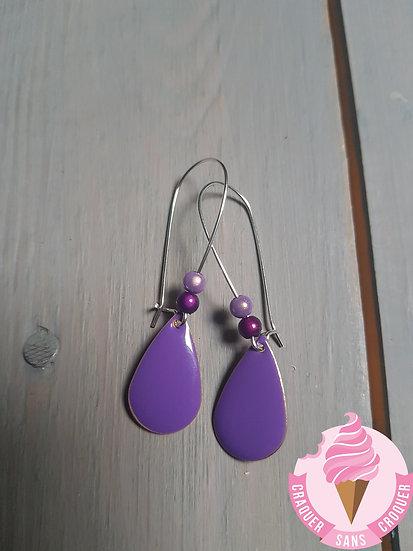 BO gouttes violette