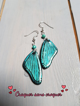 BO ailes turquoise