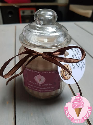Bougie parfumée cookie [40H]
