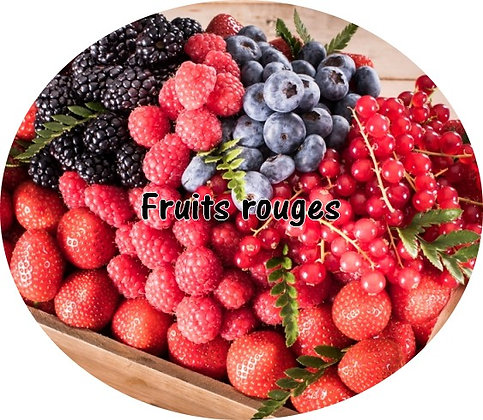 Galet parfumé fruits rouge