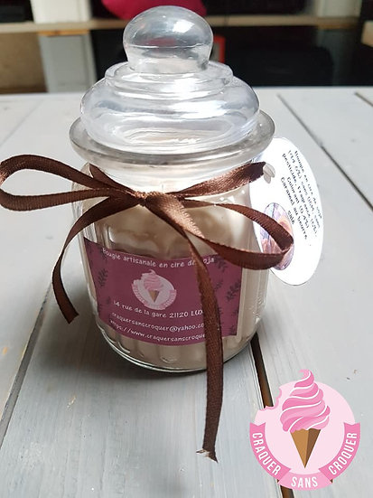 Bougie parfumée caramel au beurre salé [40H]