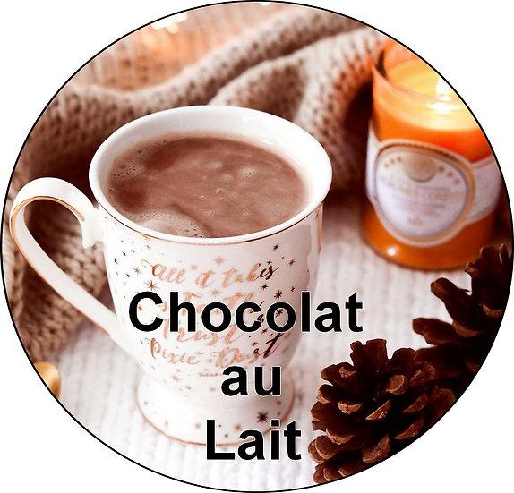 Galet parfumé chocolat au lait
