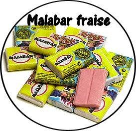 Galet parfumé Malabar fraise