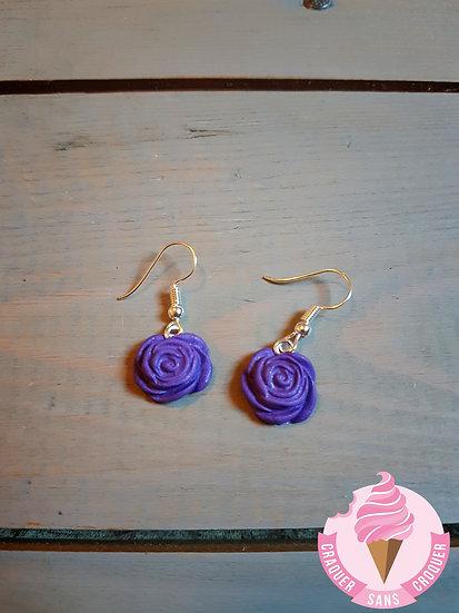 BO fleurs violette
