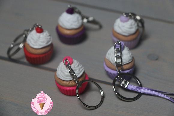 Porte clés cupcake