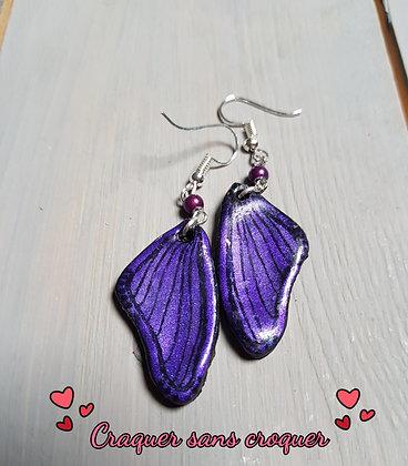 BO ailes violette