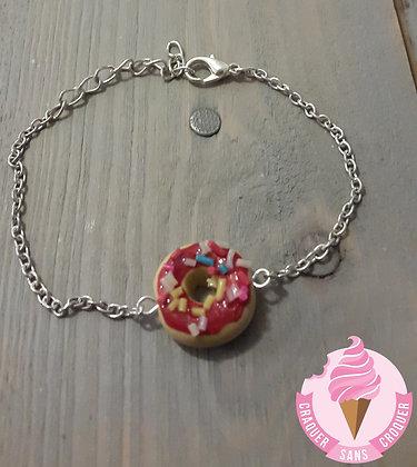 Bracelet donut's fraise