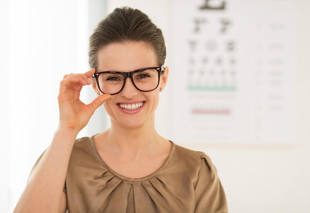 Escoge tus gafas correctas