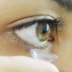¿Primera vez con lentes de contacto?