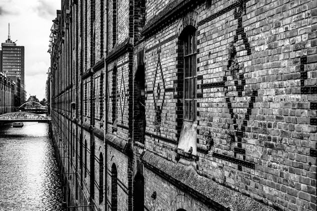 Hambourg de briques et d'eau