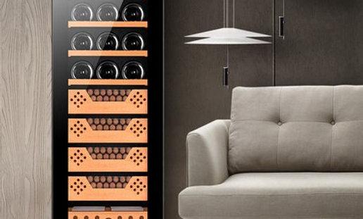Wine, Cigar, & Tea Cabinet