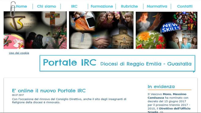 E' online il nuovo Portale IRC