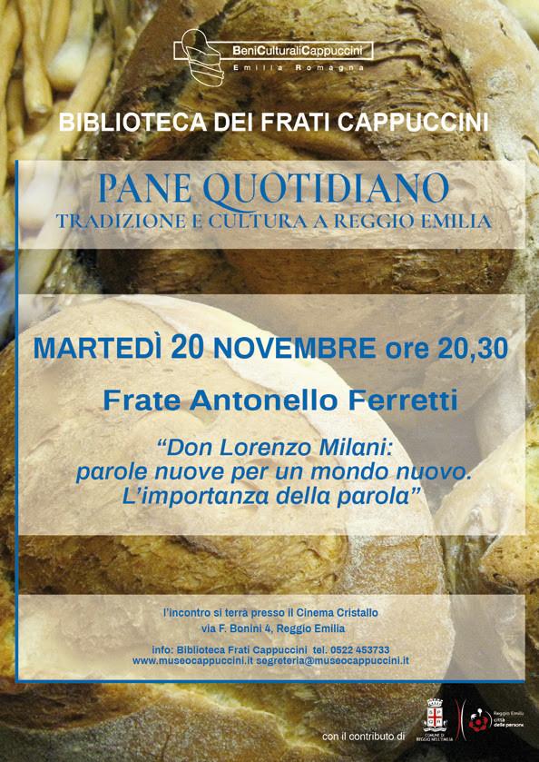 Pane quotidiano, tradizione e cultura a Reggio Emilia