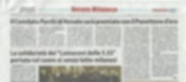 Articolo Notiziario - Panettone d'Oro -