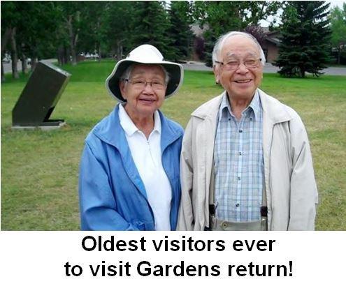 Oldest Visitors Ever To Visit Gardens Return
