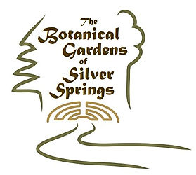 Site logo botanical gardens of silver springs