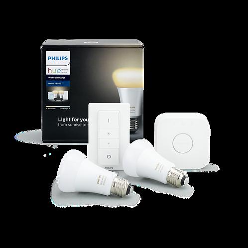 Philips Hue White Colour Ambiance Starter Kit