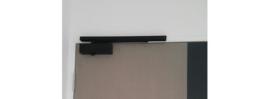 NIKAWA Bedroom Door Closer (Black)