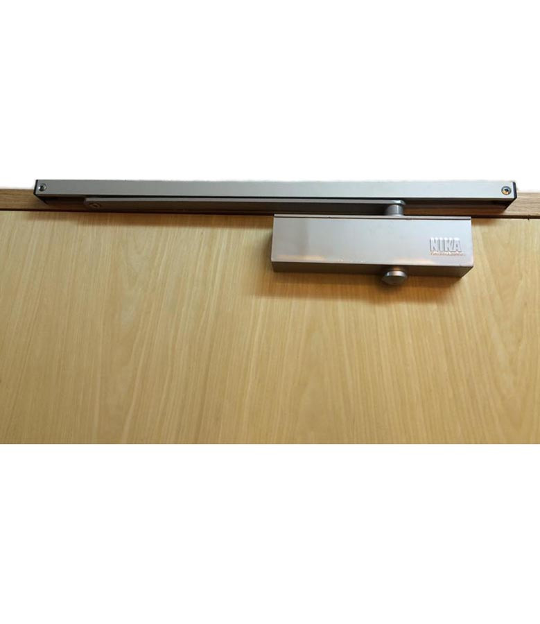 NIKA 983 Door Closer with Slide Arm (Silver)
