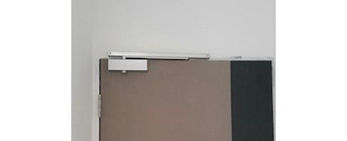 NIKAWA Bedroom Door Closer Silver