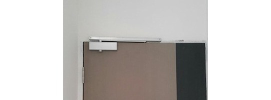 NIKAWA Bedroom Door Closer Silver