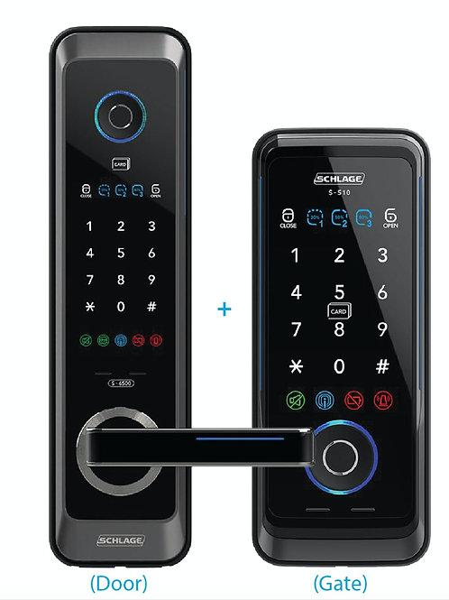 Schlage S6500F + S510G Digital Lock