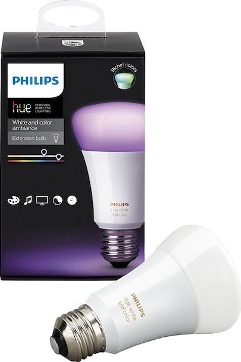 Philips Hue White & Colour E27 Bulb