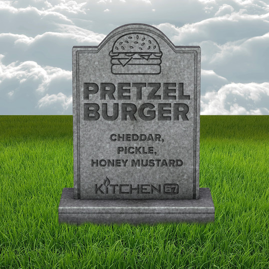 Pretzel Burger