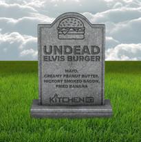 Undead Elvis Burger