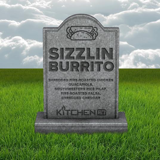 Sizzlin Burrito