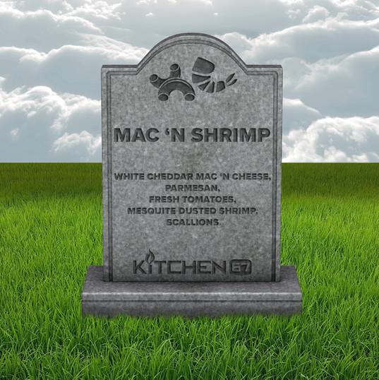 Mac 'N Shrimp