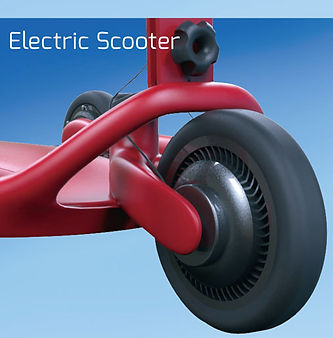 Motorized-scooter-model