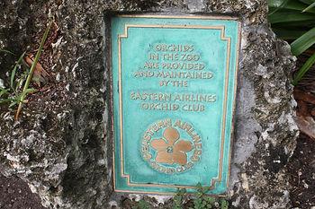 Zoo Miami EALOC Plaque