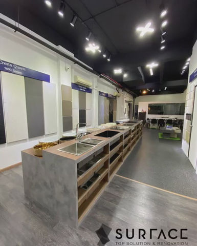 The new display in our showroom is beyond our expectations- Part I