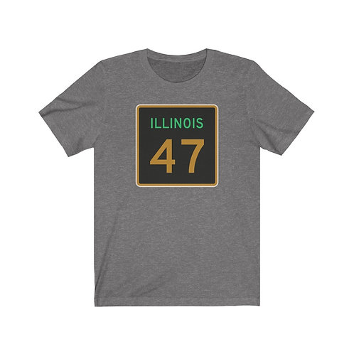 Illinois Route 47 T-Shirt