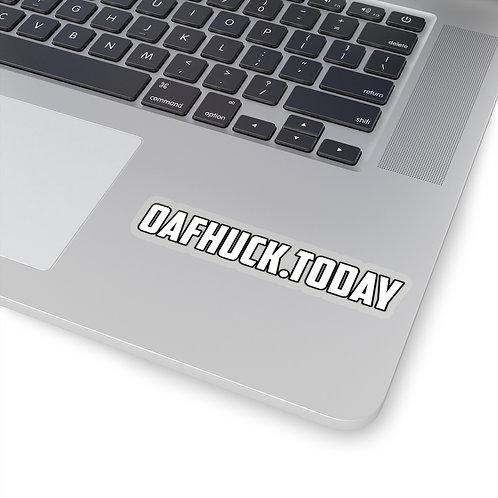 OafHuck.today - Dope Ass Sticker