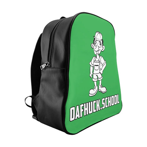 A Remarkable OafHuck.school Backpack in Confidence Green