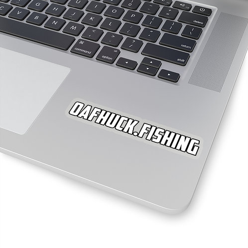 OafHuck.fishing - Dope Ass Sticker