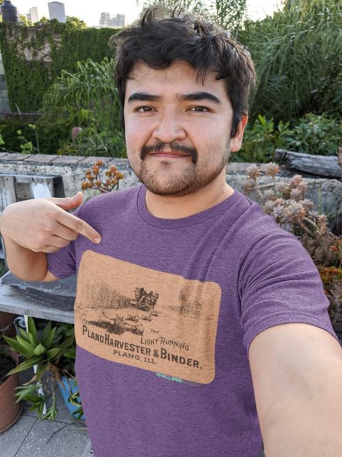 Plano Harvester & Binder T-Shirt