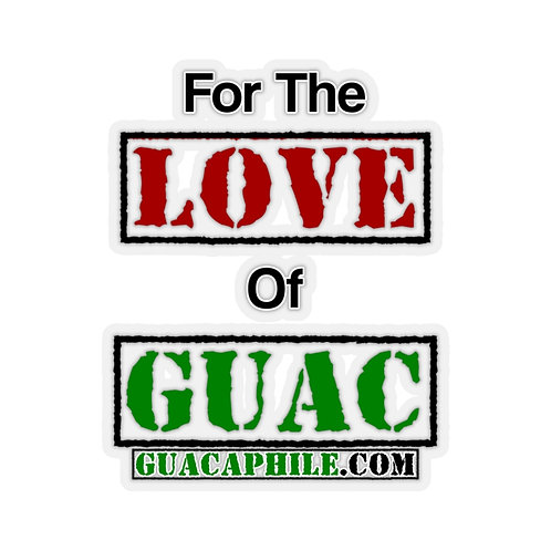 Simply Stated - For The Love Of Guac Sticker