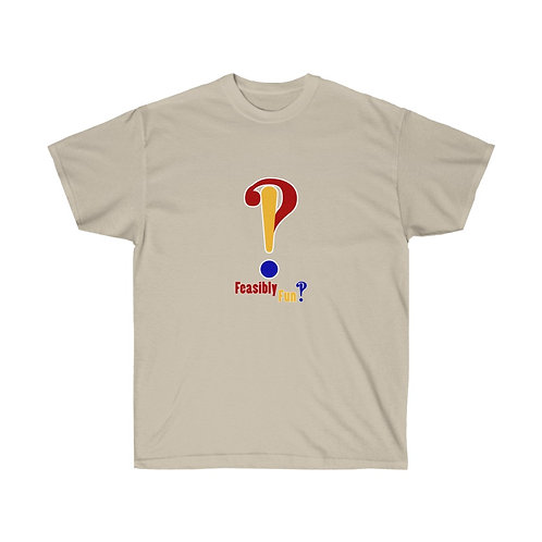 Feasibly Fun Has A Shirt With Interrobangs On The Front AND The Back
