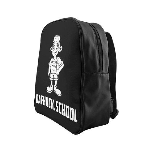 A Remarkable OafHuck.school Backpack in Coal Black