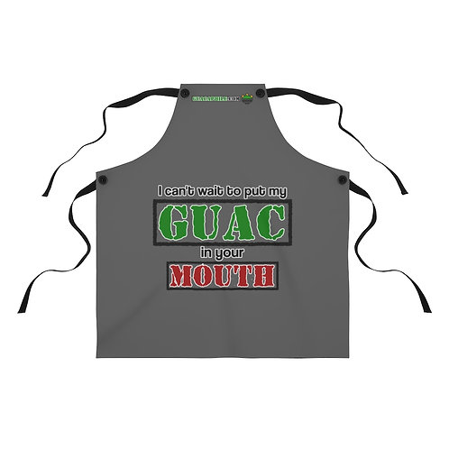 Guacaphile's Apron - I can't wait to put my GUAC in your MOUTH