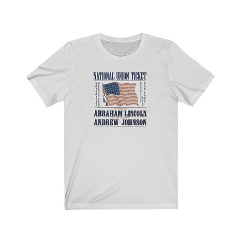 Abraham Lincoln Campaign Poster T-Shirt
