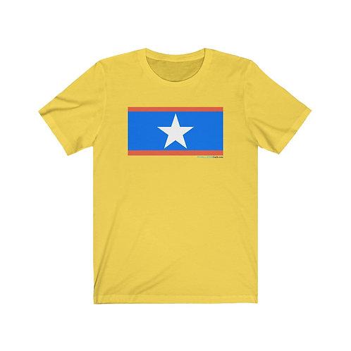 A Simple White Star Shirt