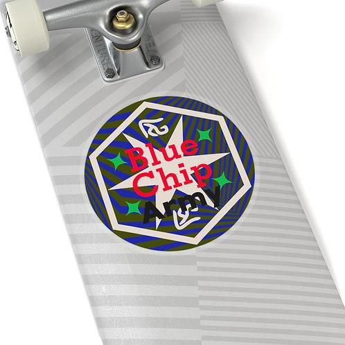 Blue Chip Army Sticker