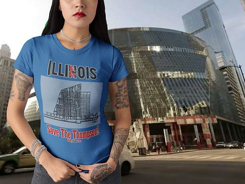 Oh, Boy Illinois - Save The Thompson! T-shirt