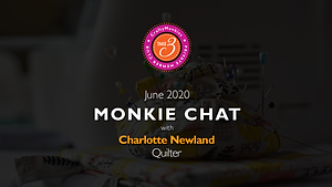 Take 3 Private Members Club Online Videos Craft Monkie Chat Interview Top Tutor Quilter Former Winner of BBC1 BBC One Sewing Bee Charlotte Newland
