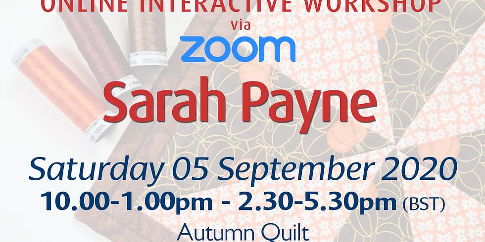 Saturday 05 September 2020: Online Workshop (Autumn Quilt)