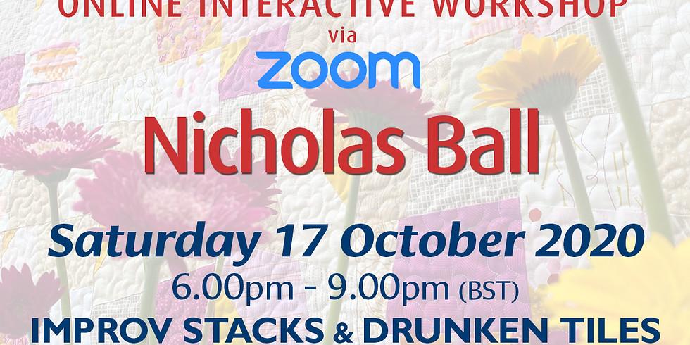 Saturday 17 October 2020: Online Workshop (Improv Stacks)